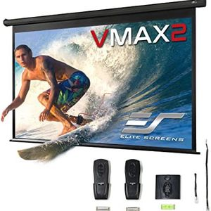 """New Elite Screens VMAX2, 135-inch 16:9, 24"""" Drop, Electric Motorized Drop Down HD Projection Projector Screen for Sale in Miami, FL"""