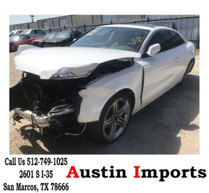 """2010 Audi A5 A 5 2.0 Part Out leather Seats All wheel drive engine turbo front left right Doors taillights rear trunk bumper parts rims brakes 19"""" tir for Sale in San Marcos, TX"""