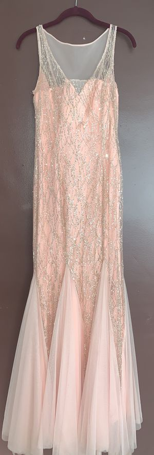 Light pink mermaid prom dress for Sale in Dearborn, MI