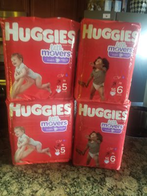 Huggies Size 5 and Size 6 Bundle for Sale in Mansfield, TX