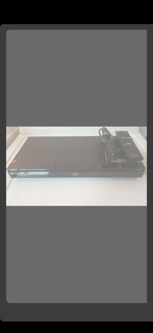 SONY BLUE RAY PLAYER W REMOTE (BDP-360) for Sale in Delray Beach, FL