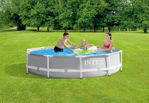 """NEW 10FT POOL + FREE DELIVERY*! Intex 10' x 30"""" Prism Frame Premium Pool Set for Sale in Lincolnwood, IL"""