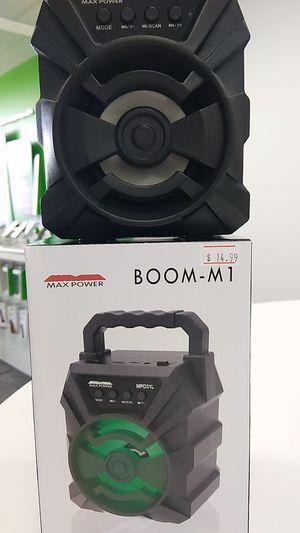 Max power Boom-M1 for Sale in Marquette, MI
