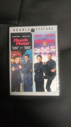 Rush Hour 1 & 2 (1998/2001) DVD for Sale in Mount Vernon, NY