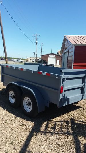 8×10×2Dump trailer for Sale in Westley, CA