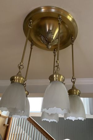 Ceiling light fixture chandelier pendant for Sale in Tacoma, WA