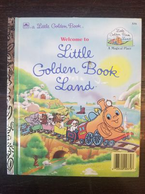 Vintage Little Golden Book Welcome to Little Golden Book Land 1989 #370 1st ed. for Sale in Lexington, SC