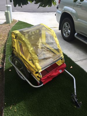 BURLEY D'LITE BIKE BICYCLE TRAILER for Sale in San Diego, CA