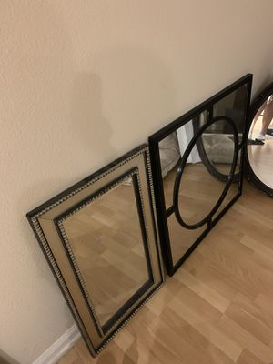 Oval, square & rectangle mirrors for Sale in Irvine, CA