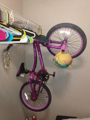 Girls bike & helmet for Sale in Clearwater, FL