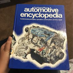 Automotive Encyclopedia Book for Sale in Chino,  CA