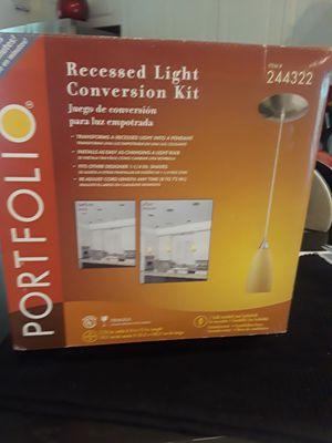 Set of 2 newPortfolio recessed light conversion kit for Sale in Cape Coral, FL