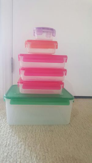 plastic storage containers for Sale in Morrisville, NC