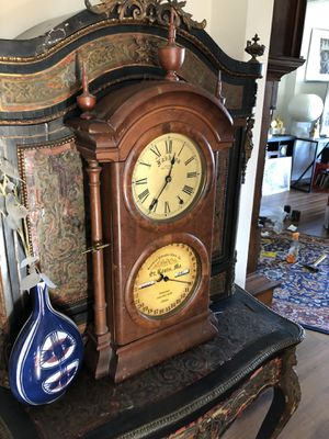 Antique Clock by the Southern Calendar Company with Perpetual Movement for Sale in West Los Angeles, CA
