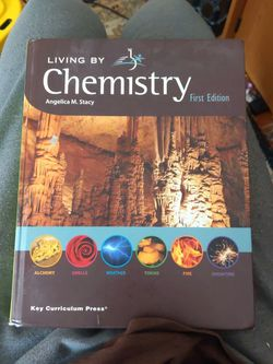 Living By Chemistry. First Edition Book for Sale in Mount Prospect,  IL