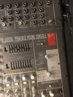 Fender px-22120 powered mixing console for Sale in Maryville, TN