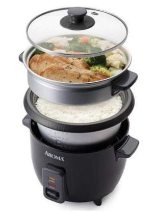 Rice Cooker Steamer Pot Large Glass Lid Automatic Electric Auto Cook for Sale in Santa Fe, NM