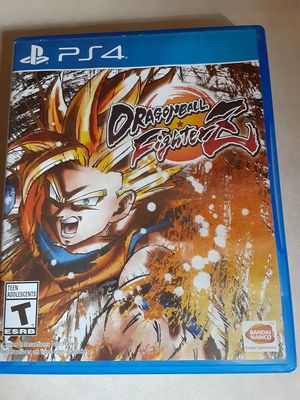 Dragon Ball fighterz ps4. for Sale in Avondale, AZ