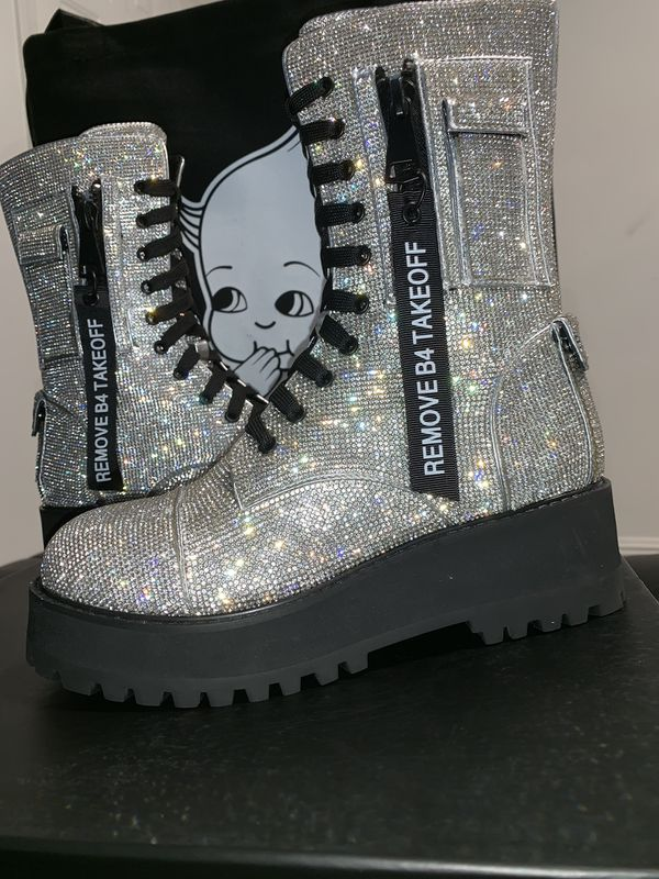 Dolls kill bling boot