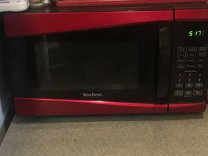 Red microwave oven for Sale in Richmond, VA