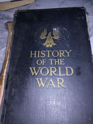 1919 History of the World War Book for Sale in Owego, NY