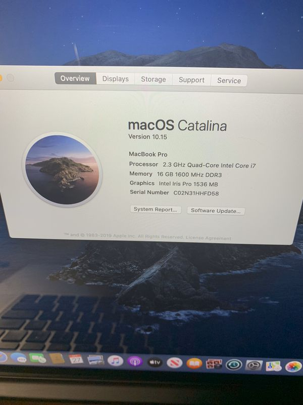 """MacBook Pro Retina 15"""" i7"""