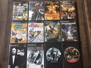 12 Sony PlayStation 2 PS2 Games for Sale in Brentwood, CA