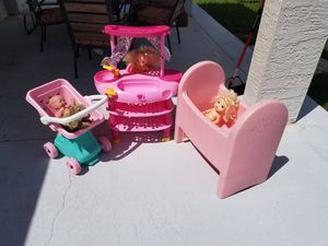 Baby doll stuff for Sale in Port St. Lucie, FL