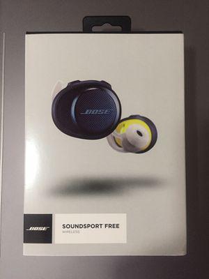 Auriculares inalámbricos de BOSE Soundsport Free, para hacer deporte audífonos solamente talla única for Sale in Pembroke Pines, FL