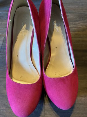 Hot pink wedges size 10 for Sale in Phoenix, AZ