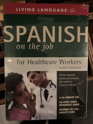 "Living language ""Spanish"" for health care workers for Sale in Pleasanton, CA"