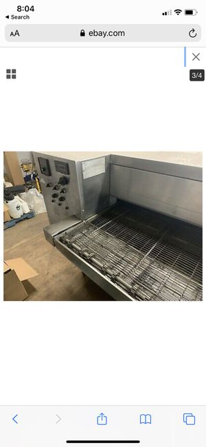 Industrial pizza oven for Sale in Roy, WA