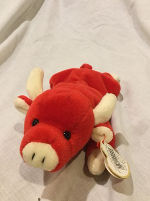 TY Beanie Baby - SNORT the Bull (9 inch) for Sale in Detroit, MI