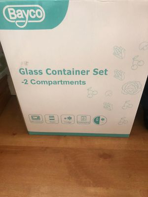 Set of 10 glass box - brand new for Sale in Chicago, IL