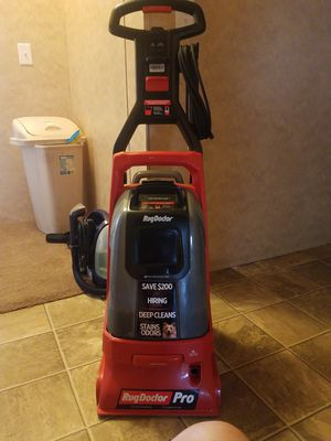 RugDoctor PRO x for Sale in Tyler, TX