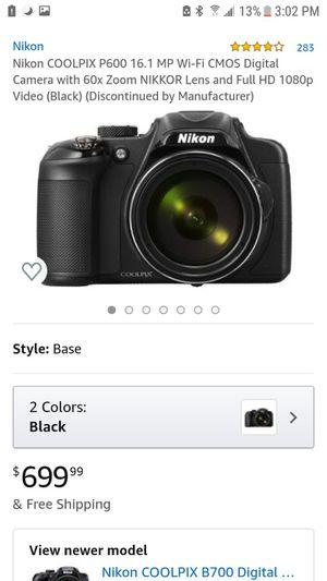 Nikon p600 for Sale in Washington, DC
