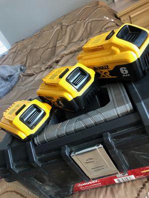 Dewalt batteries (20 volts) *BRAND NEW* for Sale in Fairburn, GA
