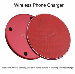 Red Wireless Qi Charger - Samsung, iPhone, and more for Sale in Newnan, GA