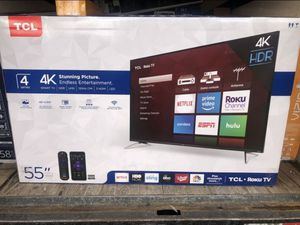 """55"""" TCL 55S423 4K UHD HDR LED ROKU SMART TV 2160P (FREE DELIVERY) for Sale in University Place, WA"""
