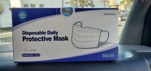 3 layer face mask , 50 count for Sale in Berkeley, CA