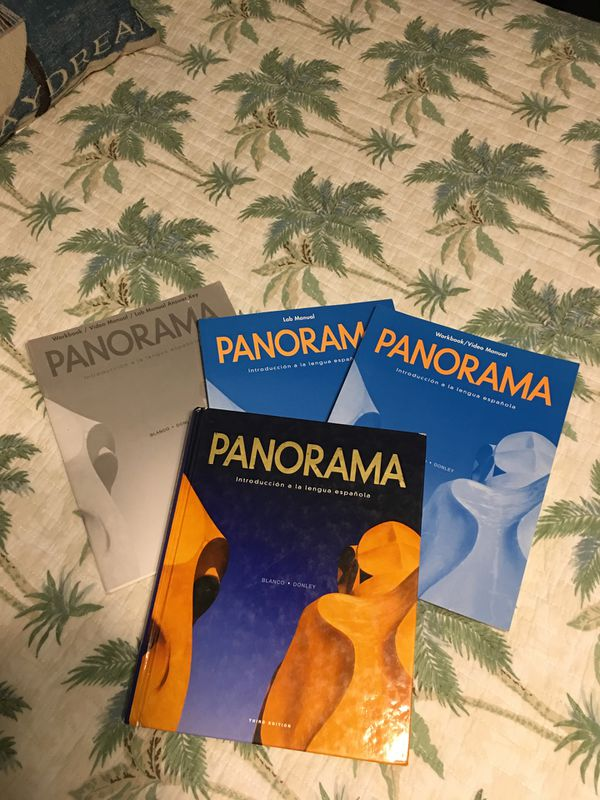 Panorama Introduction to Spanish Textbook Workbook Answer Key