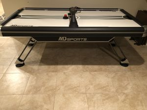 7ft Air Hockey Table - Bought in 2018 for Sale in Gainesville, VA
