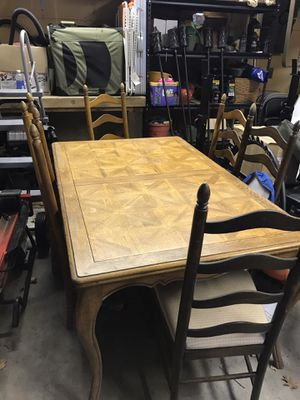 Wood dining table for Sale in Toms River, NJ
