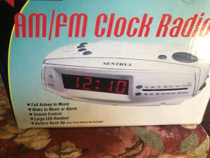 Very cute brand new in box never opened alarm clock for Sale in Beaverton, OR