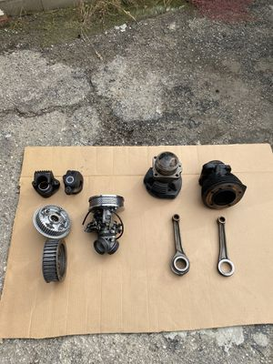 Harley Davidson motorcycle parts off 84 shovel head for Sale in Pico Rivera, CA