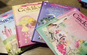 Kids 3 in 1 Fairy Tale Books for Sale in Fort Lauderdale, FL