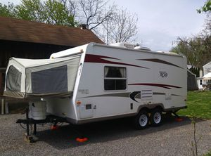 2009 Rockwood Roo 19' Off-Grid Camper with Solar Upgrade for Sale in PA, US