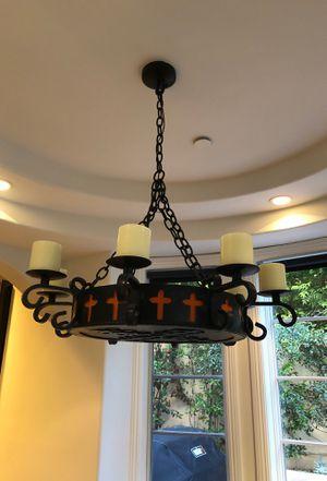 Metal chandelier for Sale in Santa Monica, CA
