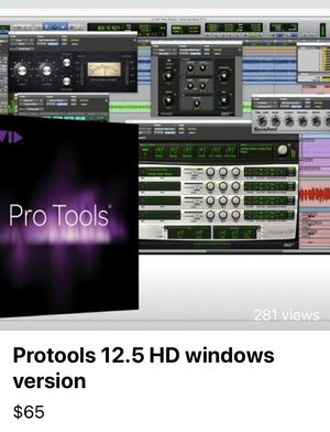 Pro tools recording and mixing program for Sale in Houston, TX