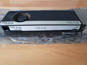 Nvidia Geforce gtx 680 FTW graphics card - 4GB w/backplate for Sale in Oklahoma City, OK